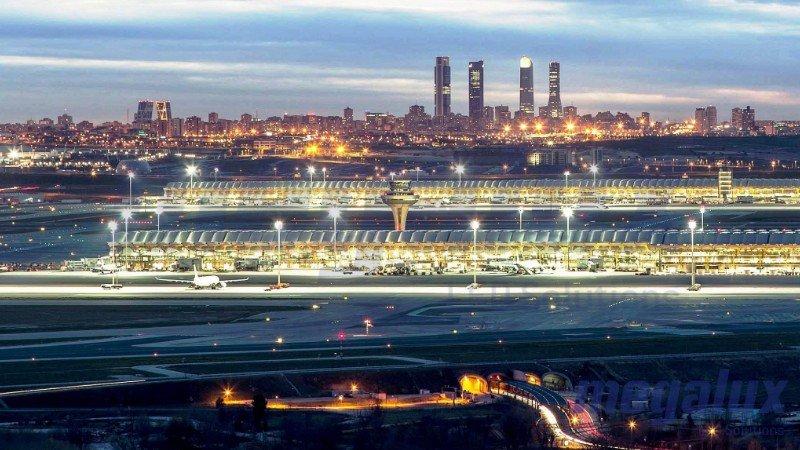 Aena instala el alumbrado de Megalux en sus aeropuertos