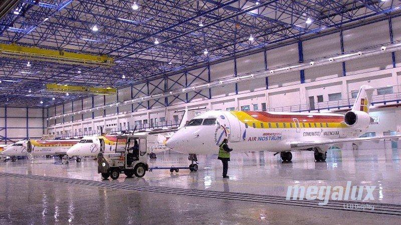 Air Nostrum adjudica a Megalux la renovación de sus instalaciones