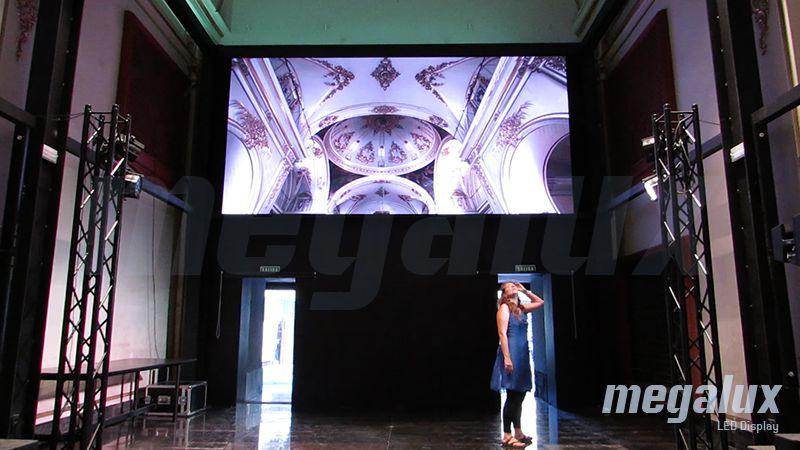 El centro cultural y gastronómico Convent Carmen elige a Megalux para su pantalla