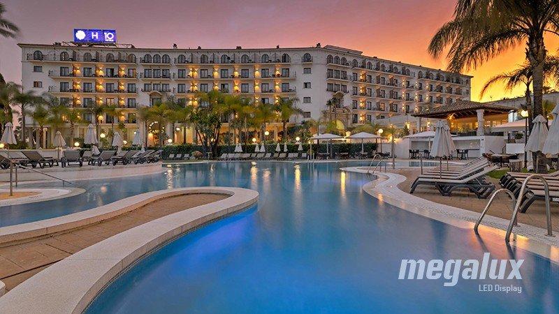 Megalux ilumina el Hotel Andalucía Plaza de Marbella