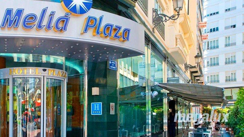 El Hotel Meliá Plaza ahorra con iluminación LED de Megalux