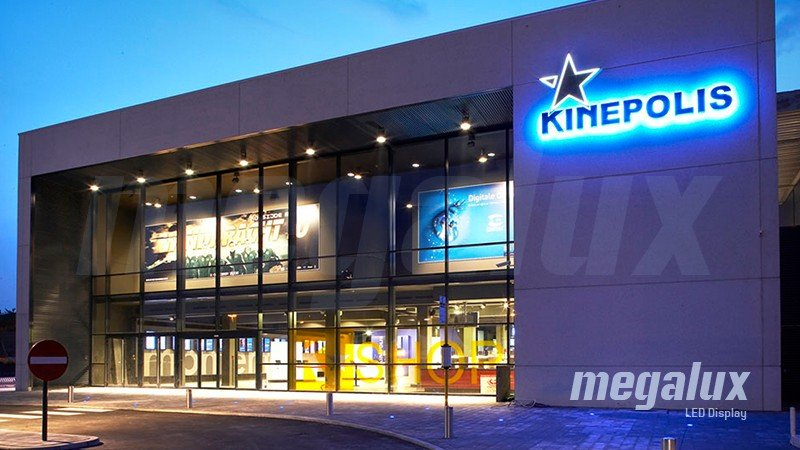 El Grupo Kinepolis elige la iluminación LED Megalux para sus cines