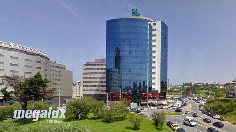 El Hotel AC Marriott Coruña instala iluminación LED de Megalux