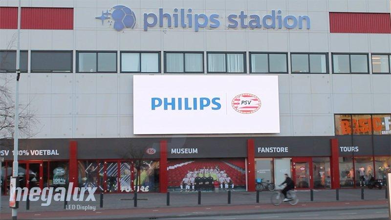 El Philips Stadion en Holanda, sede del PSV, elige Megalux para su nueva pantalla LED
