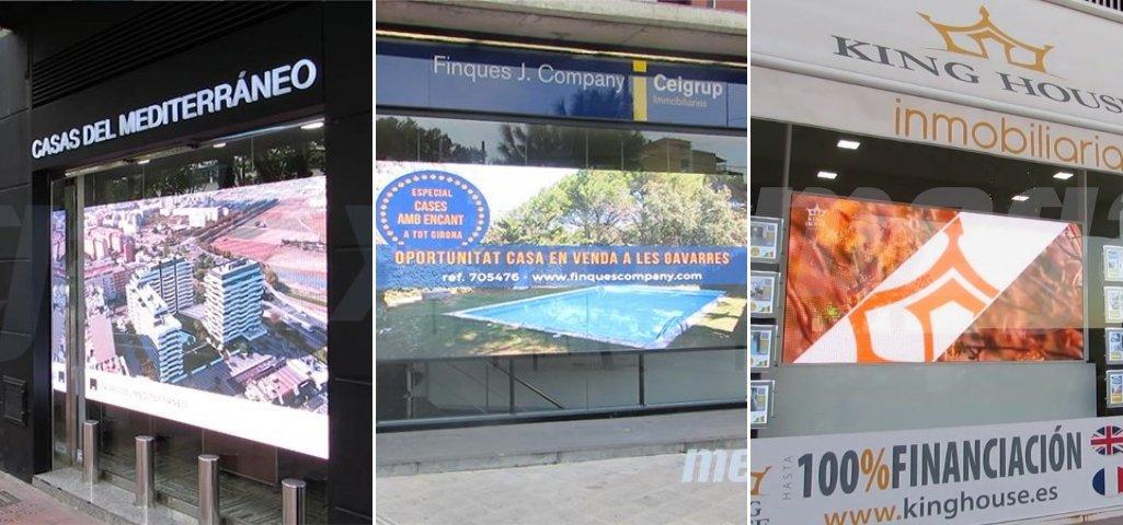 La importancia de la pantalla LED publicitaria en el sector inmobiliario