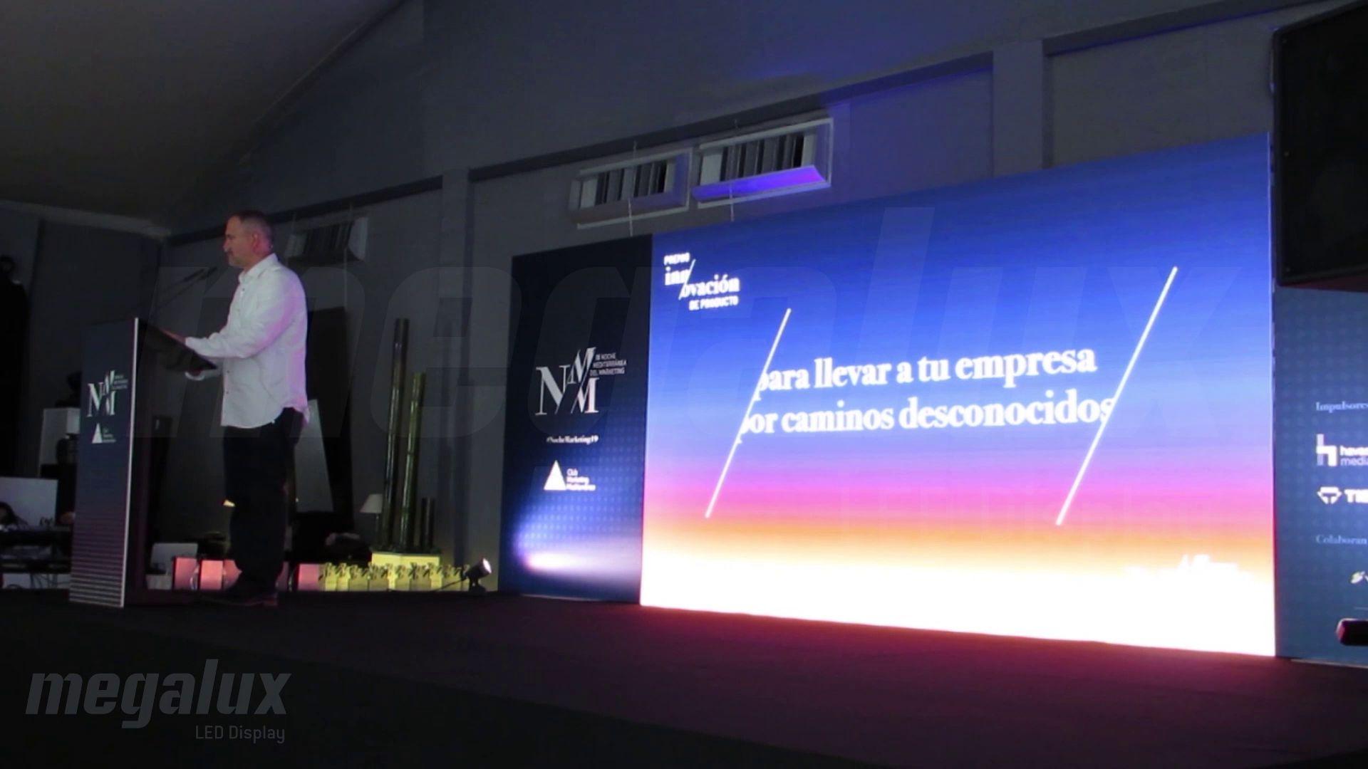 Megalux patrocina al Club de Marketing del Mediterráneo durante su entrega anual de premios