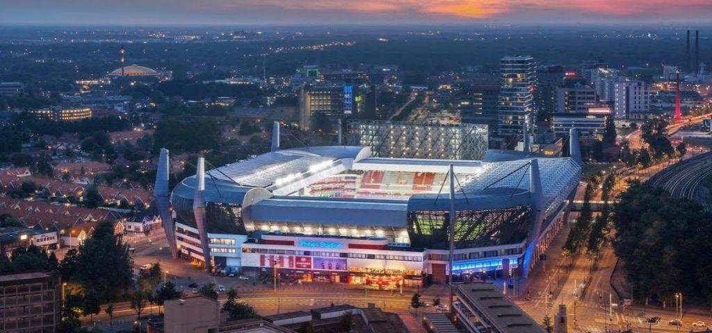 PSV Eindhoven adjudica a Megalux 380 m2 de pantalla LED para su innovador proyecto en el Philips Stadion