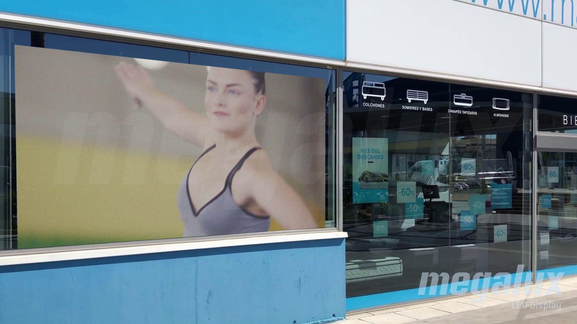 Max Colchón ha elegido a Megalux para su gran pantalla LED publicitaria en Málaga